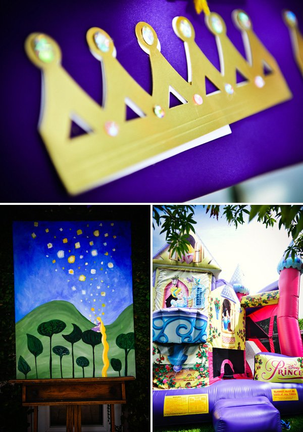 rapunzel gold crown craft