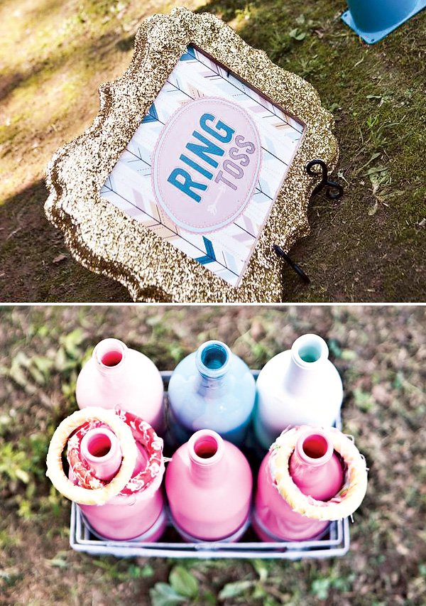 ring toss birthday party activity