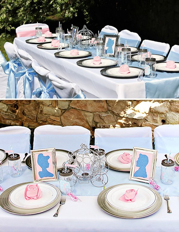 royal tablescape