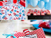 blue and red dr. suess party favor ideas