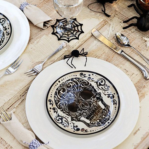 \ Bone Appetit\  Halloween Dinner Party // Hostess with the Mostess® & Bone Appetit\