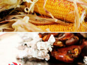 carnival and circus style food for a 3rd birthday party