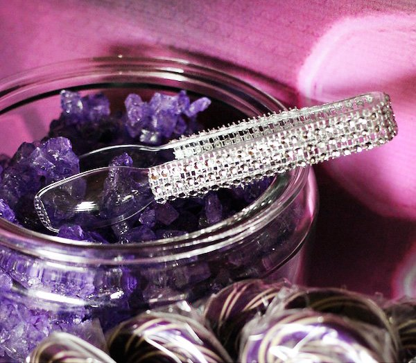 sparkle tongs for a flashy candy buffet