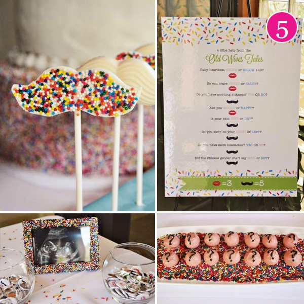 sprinkle gender reveal baby shower