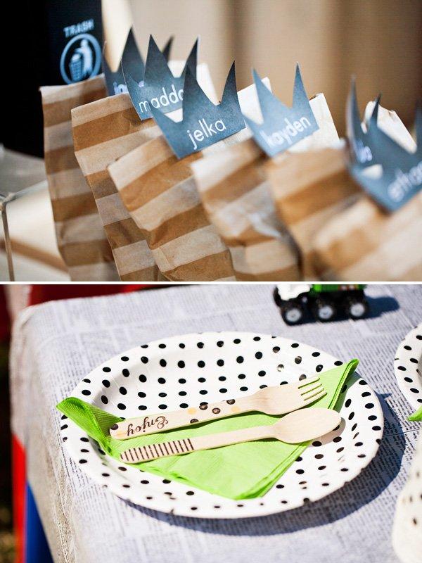 stripe bags