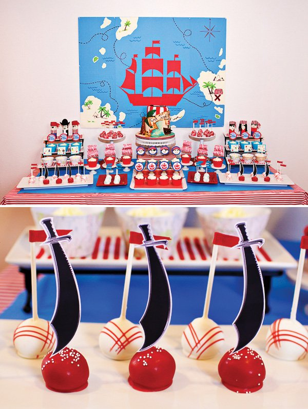 sword cake pops