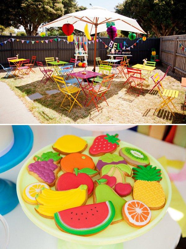tutti frutti birthday party