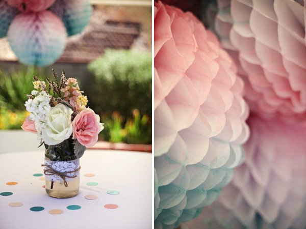 Watercolor Paper Lanterns