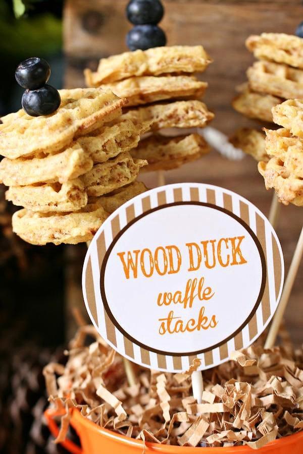 wood duck waffles