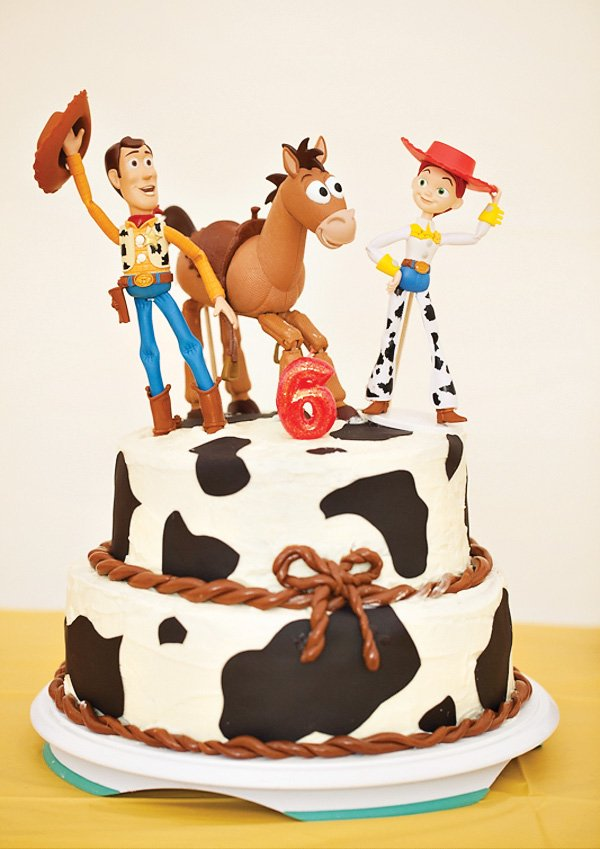 Jessie The Cowgirl Themed Birthday Toy Story Party