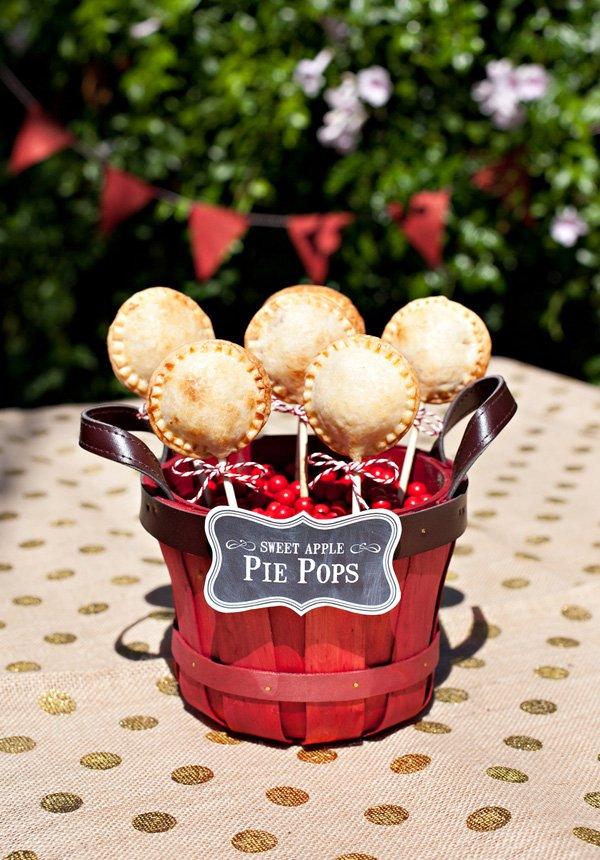 apple pie pops recipe with NECTRESSE