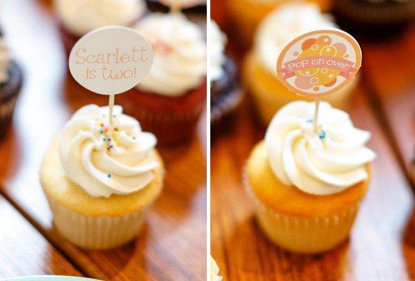 pop on over birthday brunch cupcakes