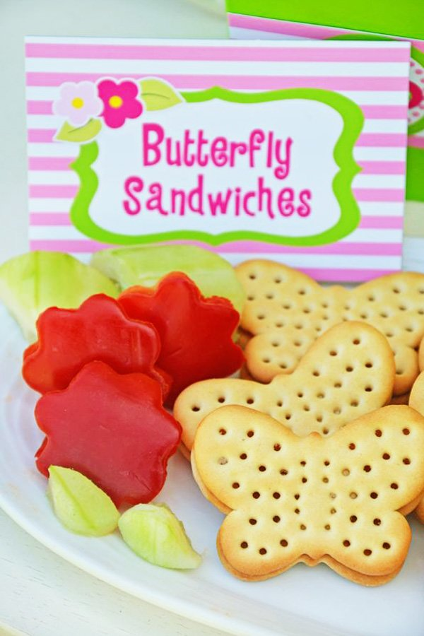 butterfly crackers