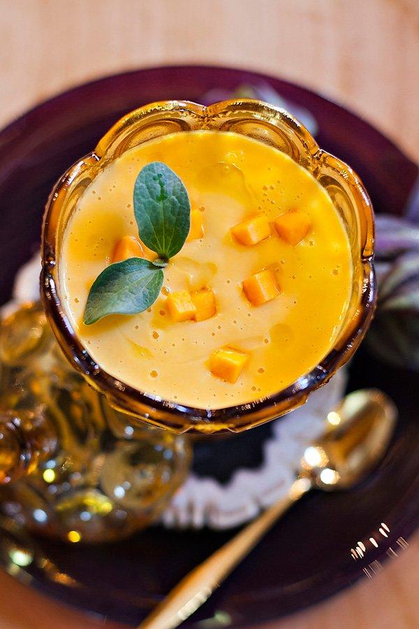 butternut squash soup for thanksgiving dinner