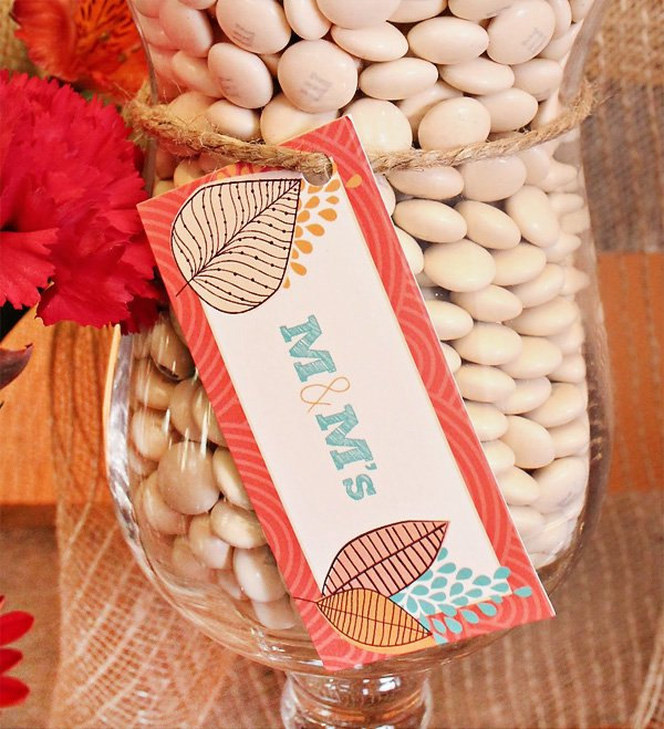 Thanksgiving Candy Labels