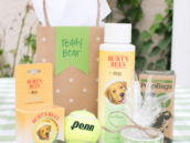 burts bees dog party favors
