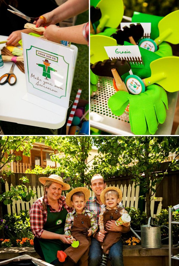 personalized garden party favors