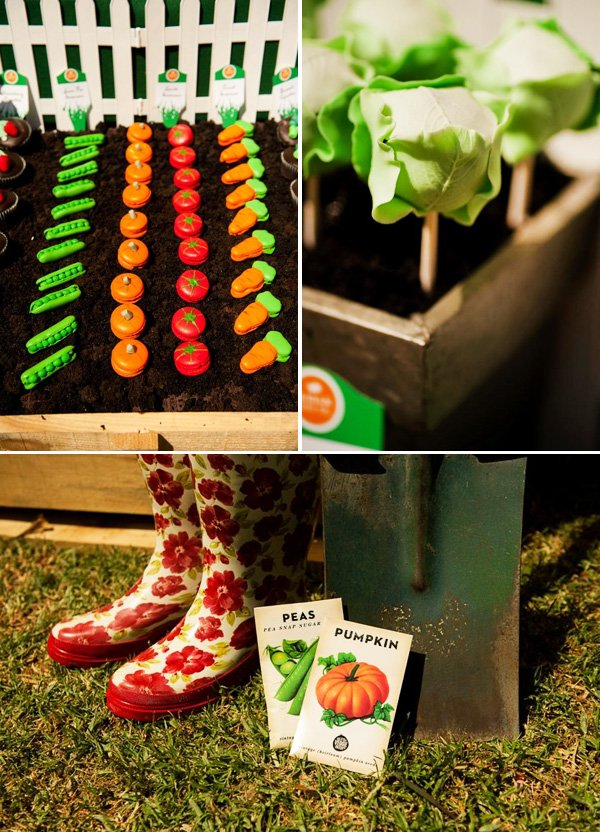 Insanely Creative Veggie Patch Birthday Party Hostess With The