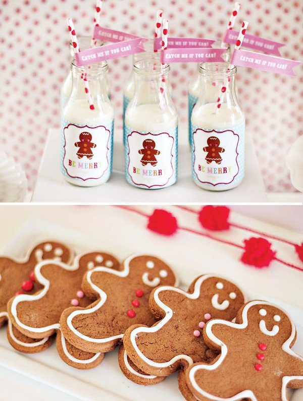 gingerbread man cookies and gingerbread printables