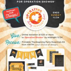 Operation Shower - Party. Support. Love.