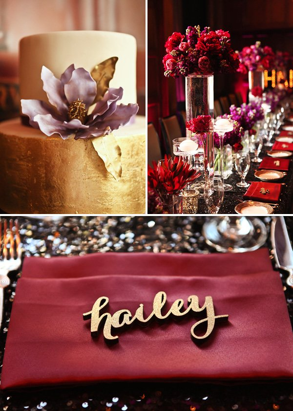 Dramatic Glamorous Dinner Party 30th Birthday Hostess with