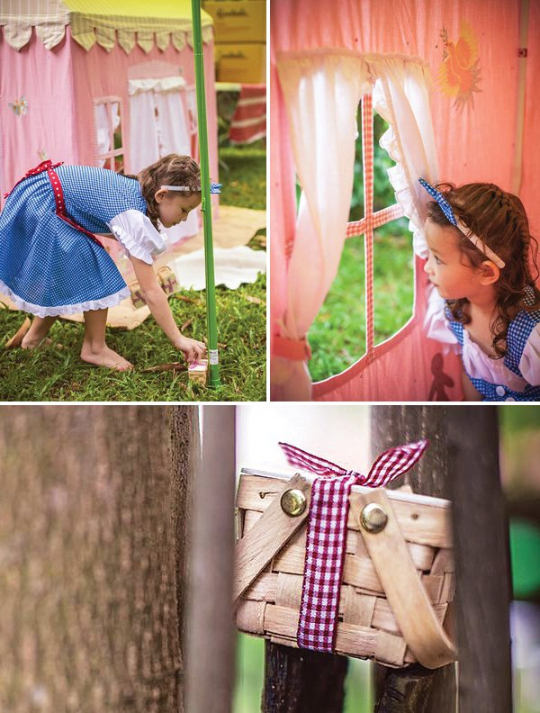 little red riding hood baskets activity