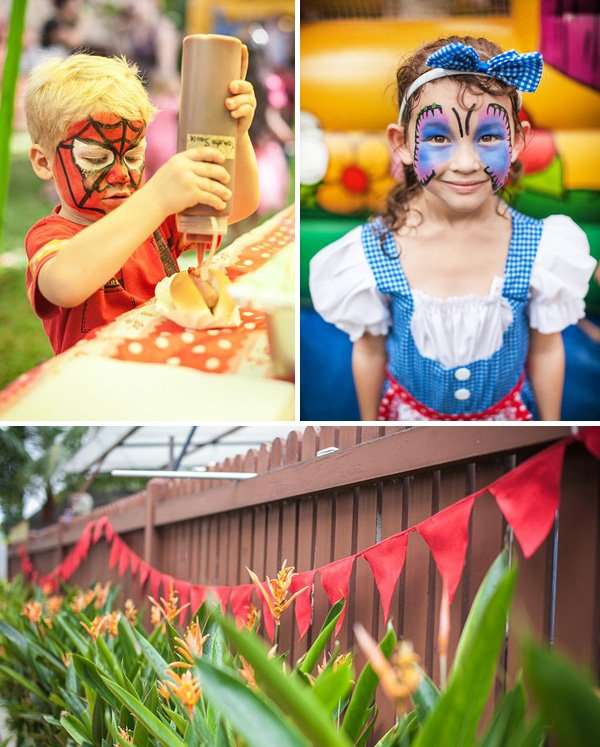 kids birthday party decorations & activities