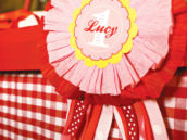 first birthday ribbon