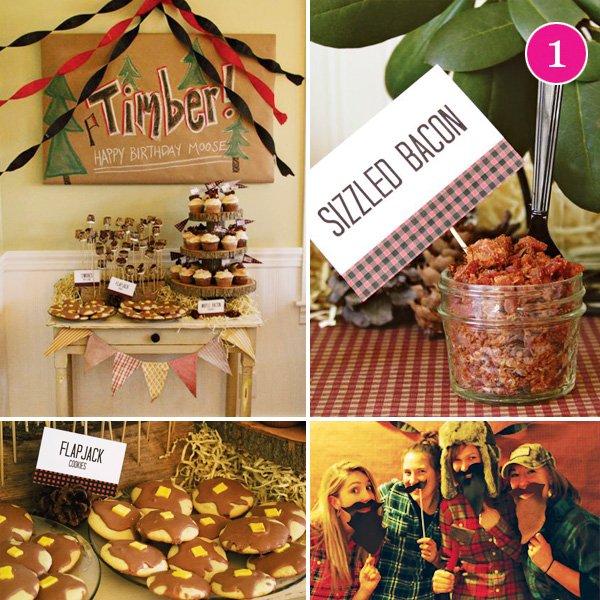 lumberjack dinner party