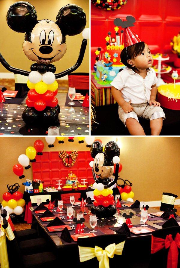 mickey centerpiece idea