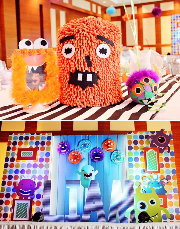 monster party ideas for a boys birthday