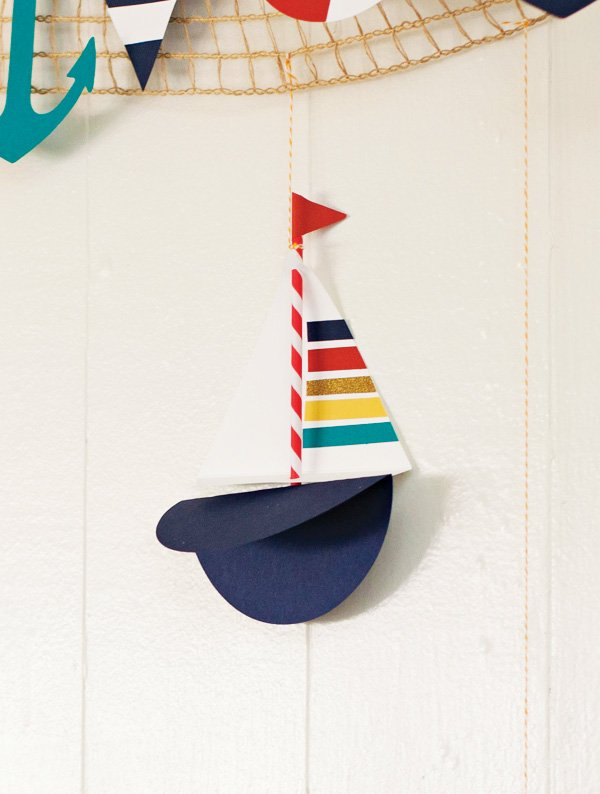 paper sailboat
