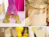 8 fun ways to party with glitter, DIY crafts to make things sparkle