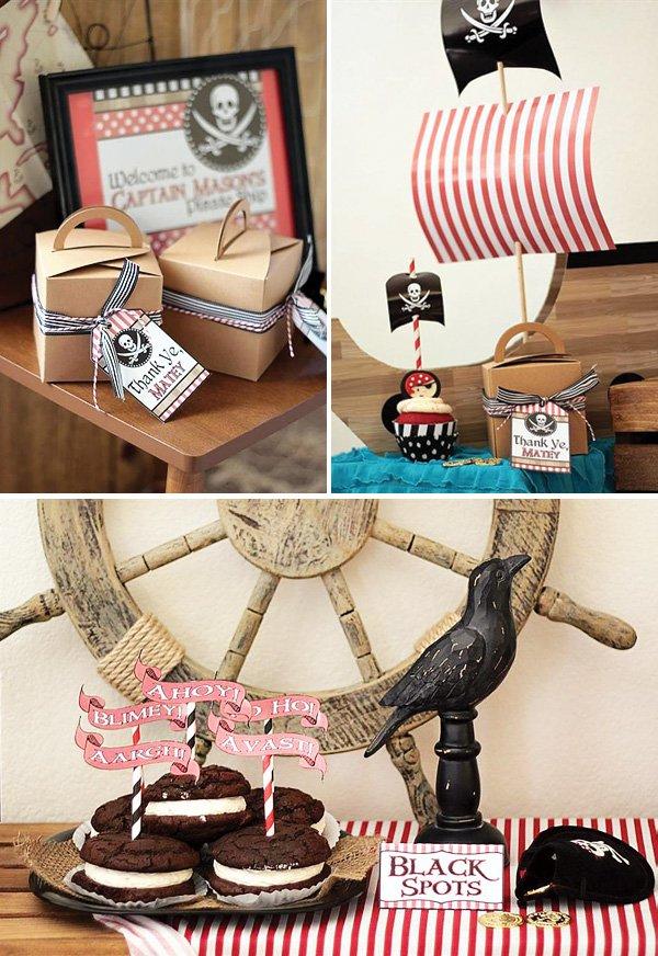 Подарить подарок в стиле пиратов 93