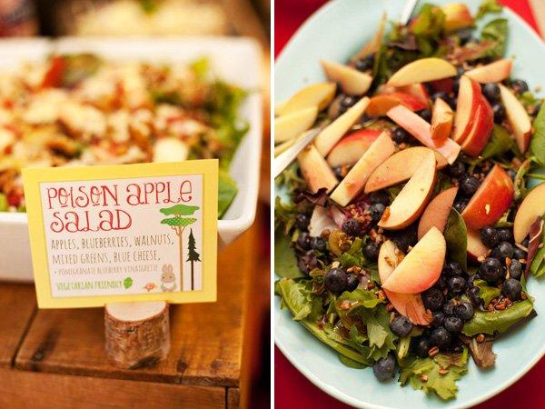 poison apple salad