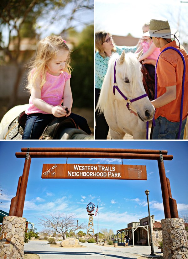 pony birthday party horseback riding at a ranch park