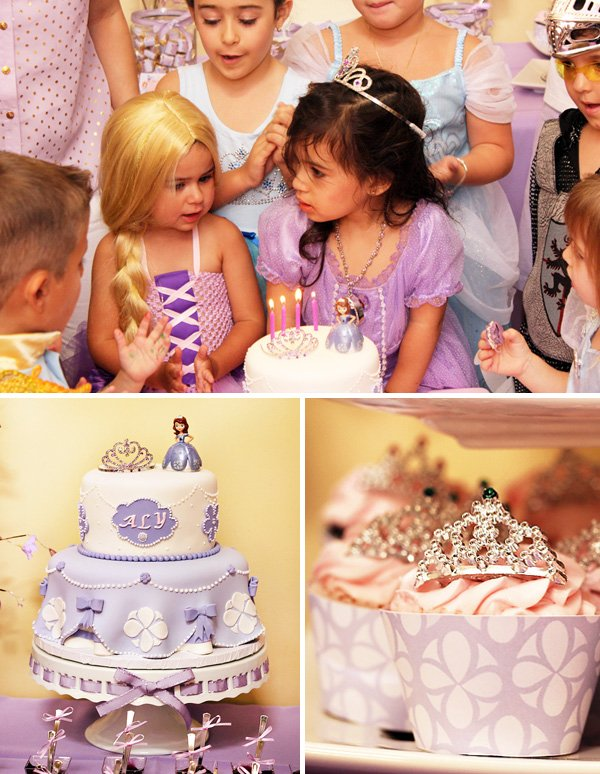 Sofia the first inspired royal tea party birthday tattoo for Sofia the first tattoos
