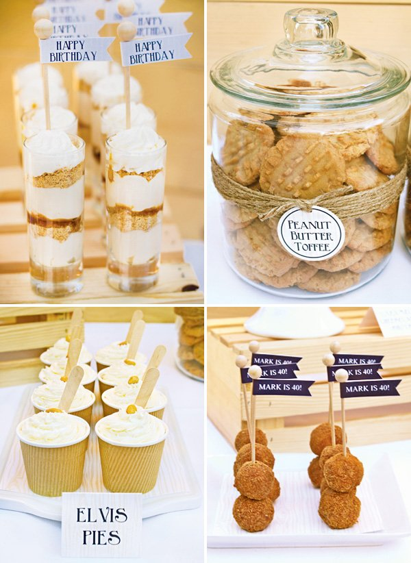 individual southern party desserts