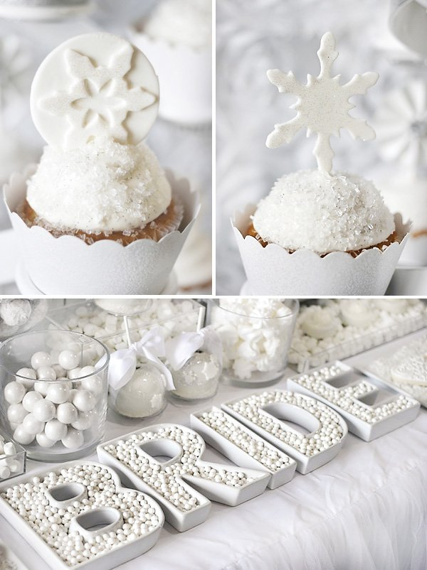 000a2c8391d Trend Alert  All White Bridal Showers  + Winter Theme     Hostess ...