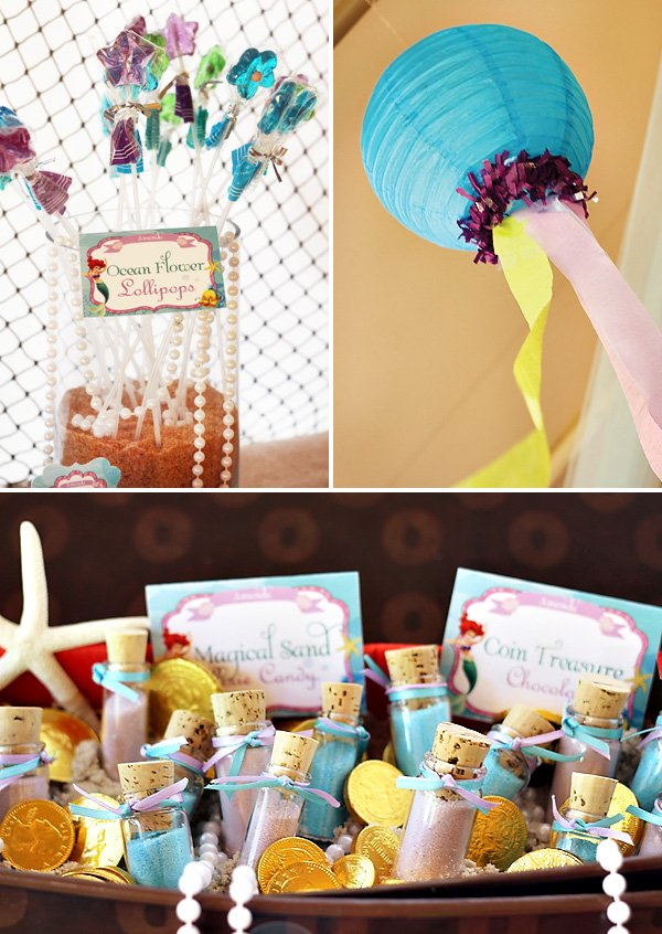 the little mermaid under the sea party decorations