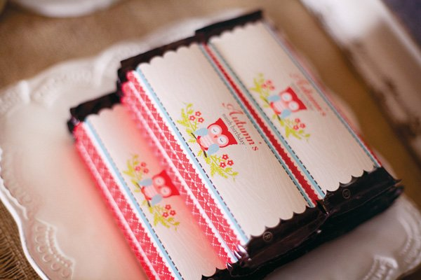 printable owl candy bar wrappers