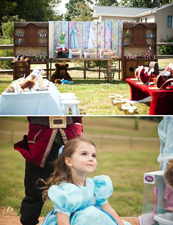 a magical peter pan birthday party with wendy and a nursery cupboard