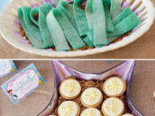 under the sea sand dollar cookies and sour seaweed candy desserts