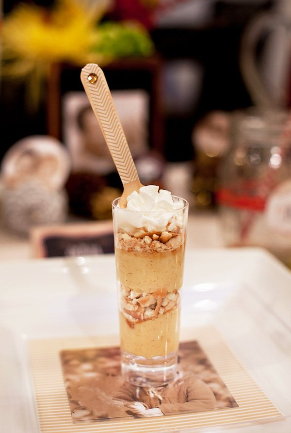 pumpkin parfaits are an easy holiday dessert