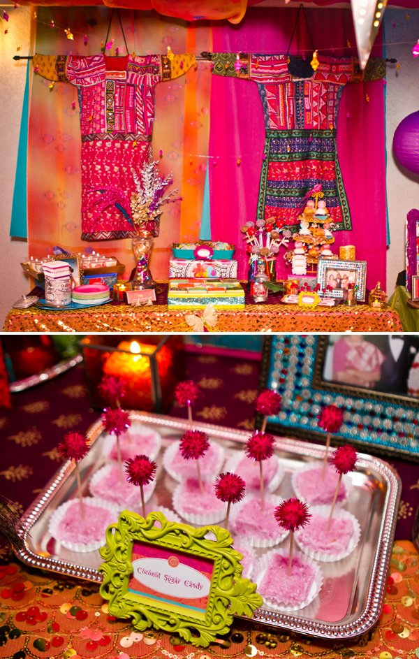 Vibrant Amp Exotic Bollywood 40th Birthday Party Hostess