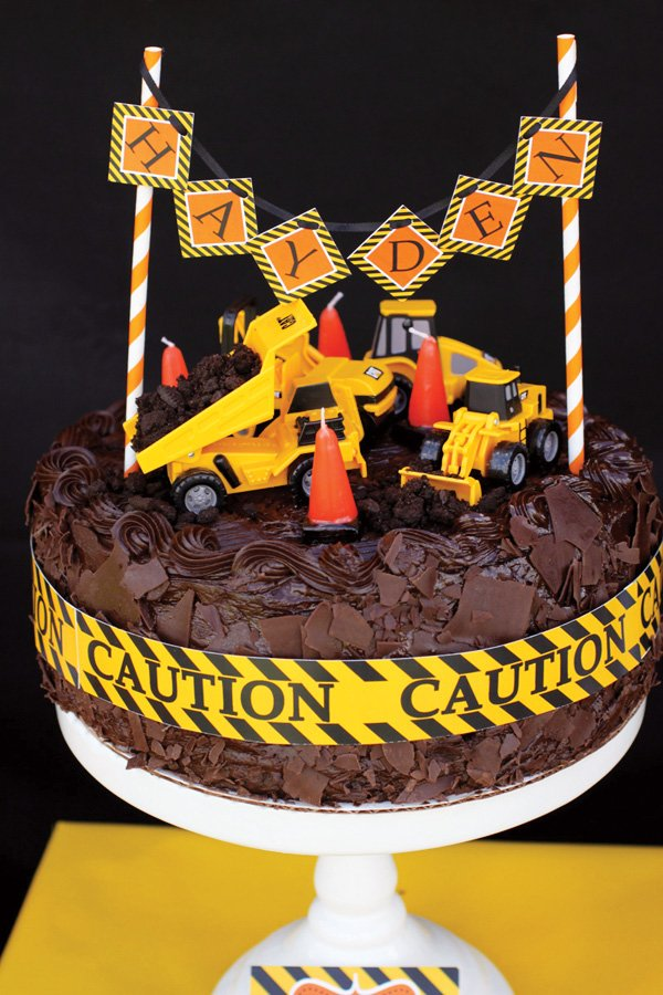 Miraculous Creative Construction Themed Birthday Party Loads Of Fun Funny Birthday Cards Online Elaedamsfinfo