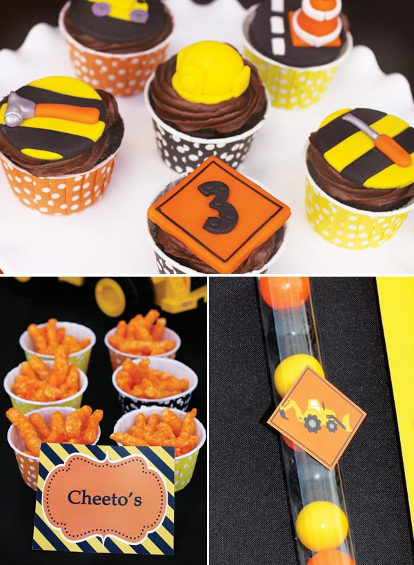 Creative Construction Themed Birthday Party Loads Of Fun