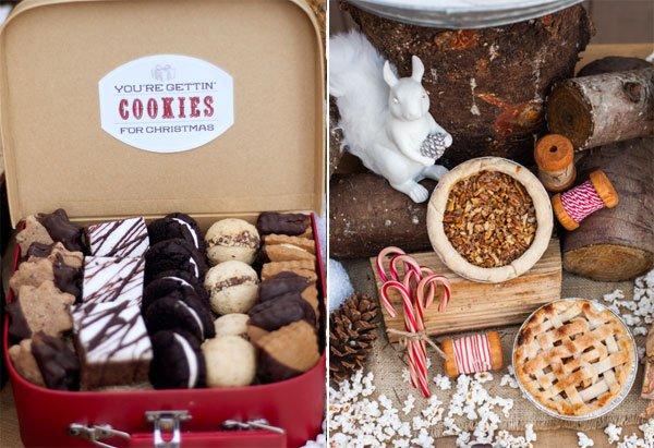 cookies-pie-rustic-woodland
