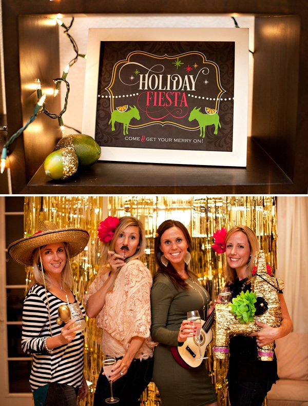 HWTM party printables for sauza fiesta and mexican photo booth