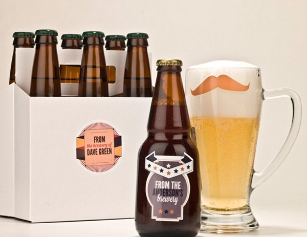 kidecals custom brewery labels